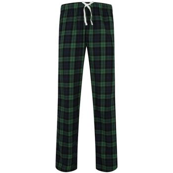 Vêtements Homme Pyjamas / Chemises de nuit Skinni Fit Tartan Bleu marine / vert