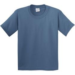 Vêtements Enfant T-shirts manches courtes Gildan 5000B Bleu indigo