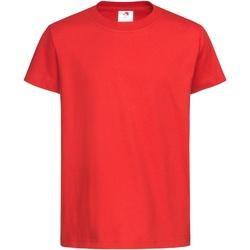 Vêtements Enfant T-shirts manches courtes Stedman Organic Rouge