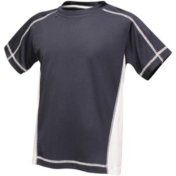Vêtements Enfant T-shirts manches courtes Regatta RA001B Bleu marine / blanc