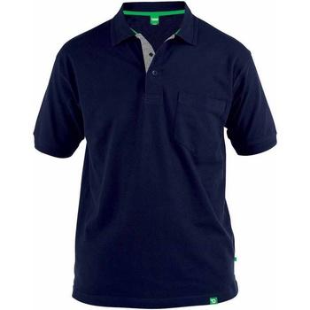 Vêtements Homme Polos manches courtes Duke Pique Bleu marine