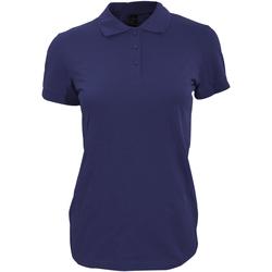 Vêtements Femme Polos manches courtes Sols 11347 Bleu marine