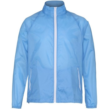 Vêtements Homme Coupes vent 2786 Contrast Bleu/Blanc