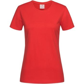 Vêtements Femme T-shirts manches courtes Stedman Classics Rouge