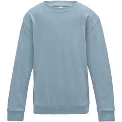 Vêtements Enfant Sweats Awdis JH30J Bleu ciel