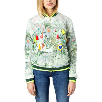 Vêtements Femme Blousons Desigual 20SWEWB7 vert