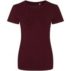 Vêtements Femme T-shirts manches courtes Ecologie Organic Bordeaux