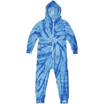 Vêtements Enfant Pyjamas / Chemises de nuit Colortone Die Tye Bleu roi