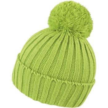 Accessoires textile Bonnets Result R369X Vert citron