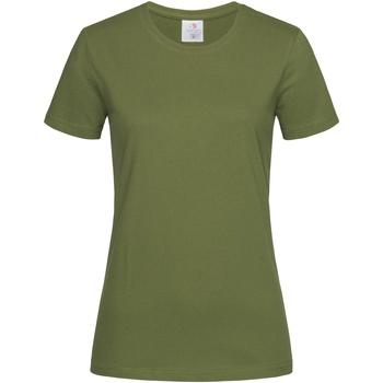 Vêtements Femme T-shirts manches courtes Stedman Classics Kaki