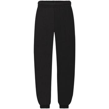 Vêtements Enfant Pantalons de survêtement Fruit Of The Loom 64051 Noir