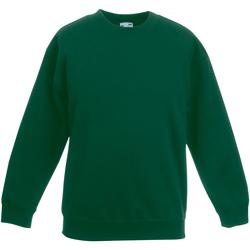 Vêtements Enfant Sweats Fruit Of The Loom SS801 Vert bouteille
