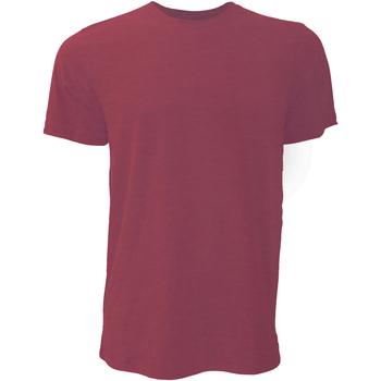Vêtements Homme T-shirts manches courtes Bella + Canvas Jersey Rouge cardinal chiné