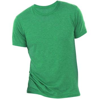 Vêtements Homme T-shirts manches courtes Bella + Canvas Triblend Vert