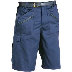 Vêtements Homme Shorts / Bermudas Portwest PW103 Bleu marine foncé