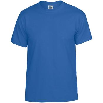 Vêtements Homme T-shirts manches courtes Gildan DryBlend Bleu roi