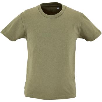 Vêtements Enfant T-shirts manches courtes Sols Organic Kaki
