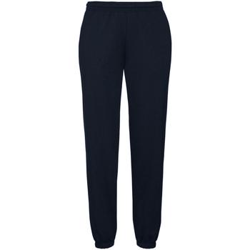 Vêtements Homme Pantalons de survêtement Fruit Of The Loom Premium Bleu marine profond