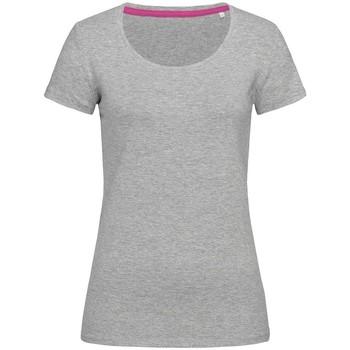 Vêtements Femme T-shirts manches courtes Stedman Stars Claire Gris