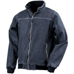 Vêtements Homme Blousons Result Bomber Bleu marine