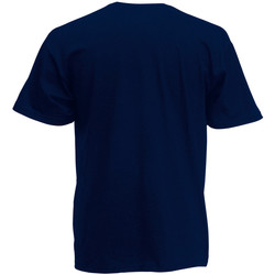 Vêtements Homme T-shirts manches courtes Fruit Of The Loom Valueweight Bleu marine profond