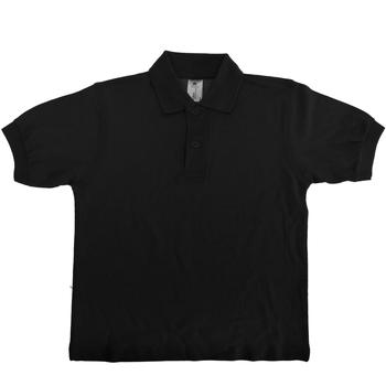 Vêtements Enfant Polos manches courtes B And C PK486 Noir