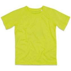 Vêtements Enfant T-shirts manches courtes Stedman Raglan Jaune