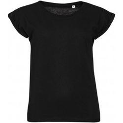 Vêtements Femme T-shirts manches courtes Sols Melba Noir