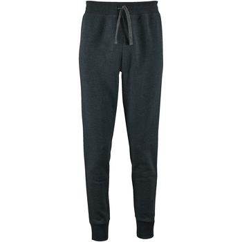 Vêtements Femme Pantalons de survêtement Sols Slim Fit Gris foncé