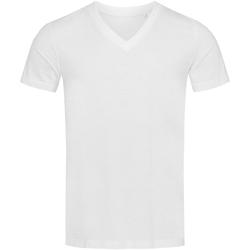 Vêtements Homme T-shirts manches courtes Stedman Stars  Blanc