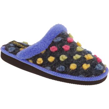 Chaussures Femme Chaussons Sleepers Donna Bleu