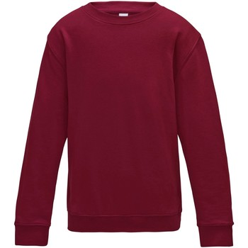 Vêtements Enfant Sweats Awdis Plain Rouge piment