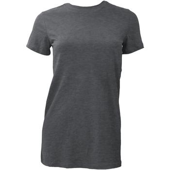 Vêtements Femme T-shirts manches courtes Bella + Canvas BE6004 Gris foncé