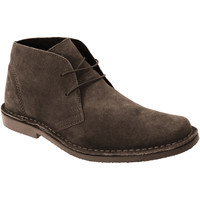 Chaussures Homme Boots Roamers Desert Marron foncé