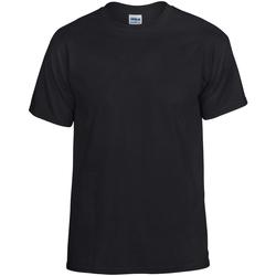 Vêtements T-shirts manches courtes Gildan DryBlend Noir