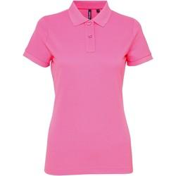 Vêtements Femme Polos manches courtes Toutes les chaussures femme Performance Rose néon