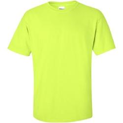 Vêtements Homme T-shirts manches courtes Gildan Ultra Vert sécurité