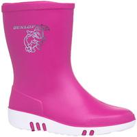 Chaussures Enfant Bottes de pluie Dunlop  Rose