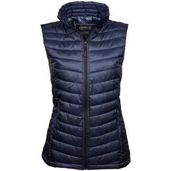 Vêtements Femme Gilets / Cardigans Tee Jays Padded Bleu marine profond