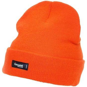 Accessoires textile Bonnets Yoko CAP402 Orange Haute visibilité