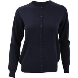 Vêtements Femme Gilets / Cardigans Kustom Kit Knit Bleu marine