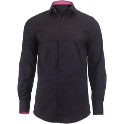 Vêtements Homme Chemises manches longues Alexandra Hospitality Noir/Rose