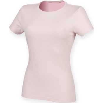 Vêtements Femme Musse & Cloud Skinni Fit Stretch Rose pâle