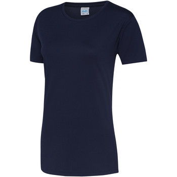 Vêtements Femme T-shirts manches courtes Just Cool JC005 Bleu marine Oxford