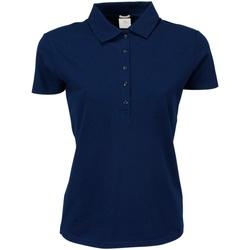 Vêtements Femme Polos manches courtes Tee Jays Stretch Bleu marine