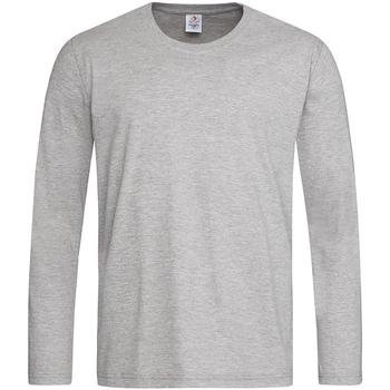 Vêtements Homme T-shirts manches longues Stedman Classics Gris