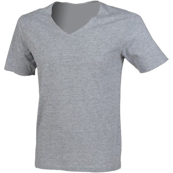 Vêtements Homme T-shirts manches courtes Sf SF223 Gris