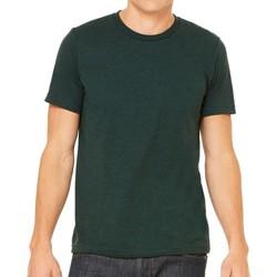 Vêtements Homme T-shirts manches courtes Bella + Canvas Triblend Emeraude