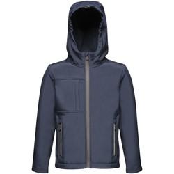 Vêtements Enfant Blousons Regatta Hooded Bleu marine