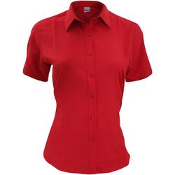 Vêtements Homme Chemises manches courtes Henbury HB596 Rouge